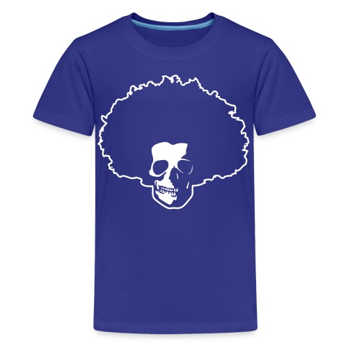 Afro Skull - Teenager Premium T-Shirt