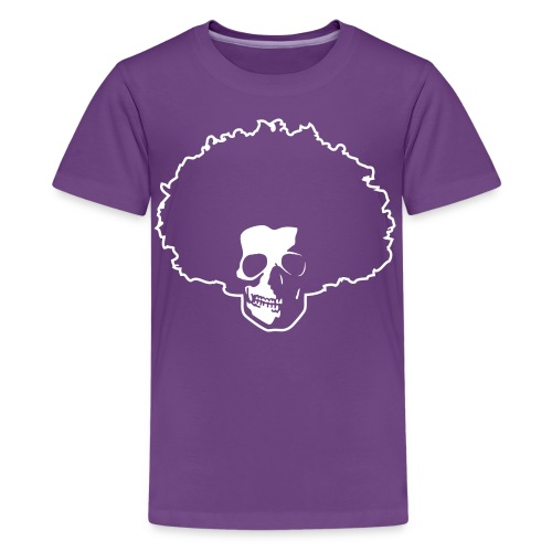 Afro Skull - Teenager Premium T-Shirt