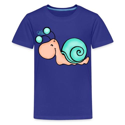 Schnucki Schneck - Teenager Premium T-Shirt