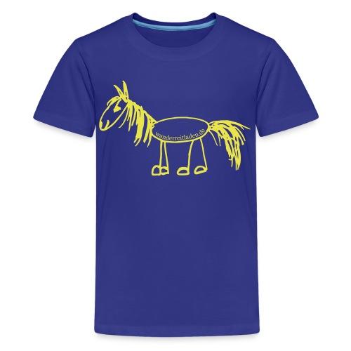 Wanderpferd - Teenager Premium T-Shirt