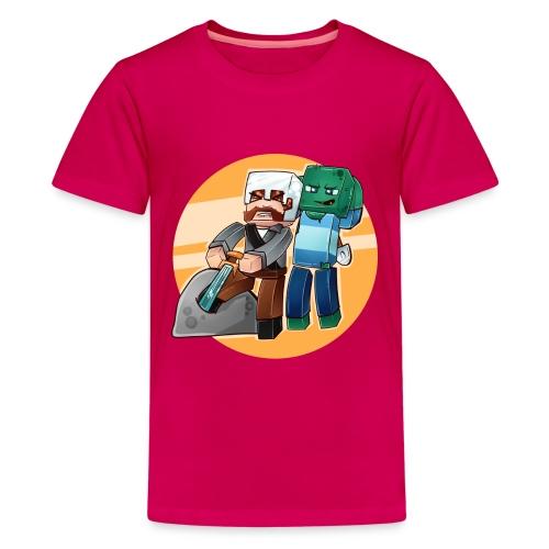 SverdisteinBG png - Premium T-skjorte for tenåringer