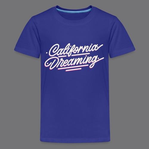 CALIFORNIA DREAMING Vintage Tee Shirt - Teenage Premium T-Shirt