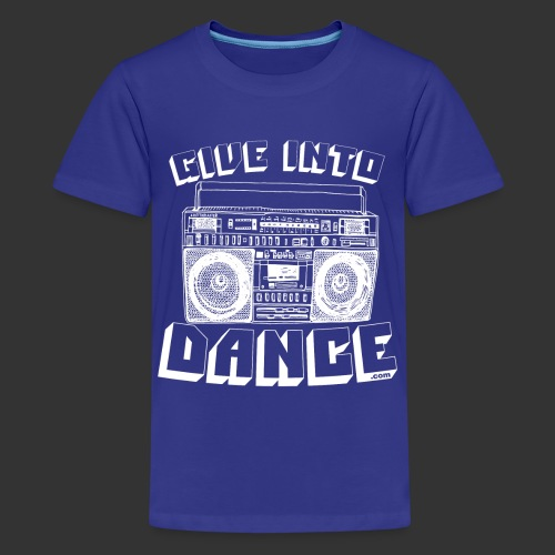 stereo white - Teenage Premium T-Shirt