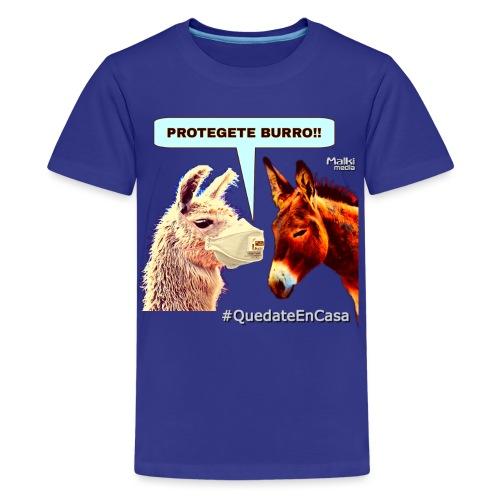 PROTEGETE BURRO - Camiseta premium adolescente