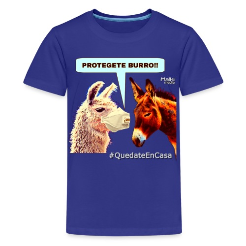 PROTEGETE BURRO - Teenage Premium T-Shirt