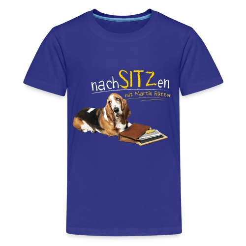 NEU: Nachsitzen - Teenager Langarmshirt - Teenager Premium T-Shirt