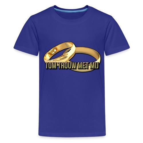 tomtrouwmetmij png - Teenager Premium T-shirt