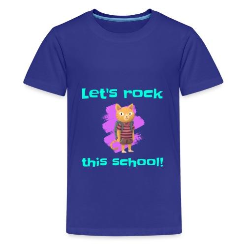 T-Shirt Faisons bouger cette école Drôle Cadeau - T-shirt Premium Ado