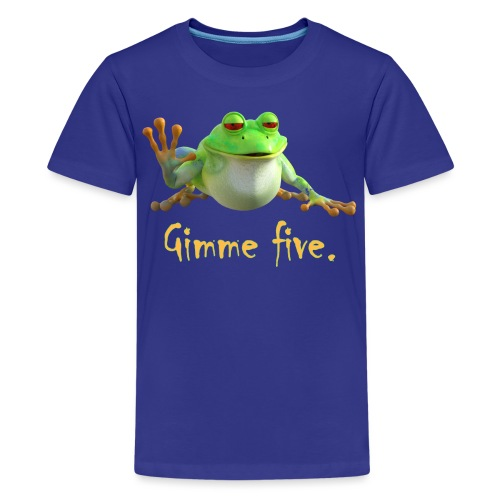 Gimme five - Teenager Premium T-Shirt