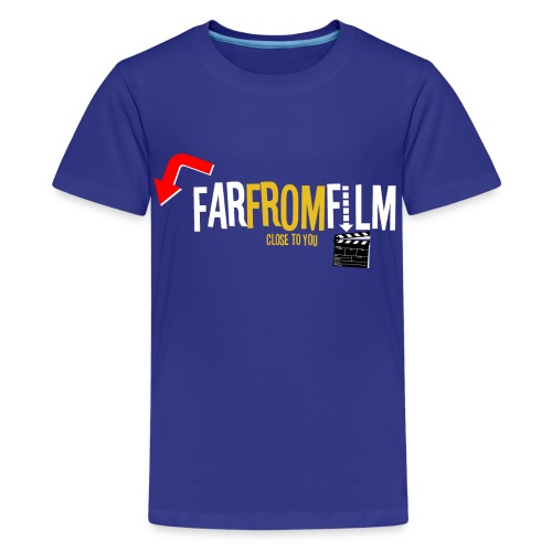 FarFromFilm FB 1 wht - Teenage Premium T-Shirt