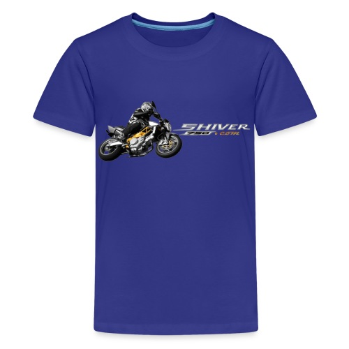 shiver150b - Teenage Premium T-Shirt