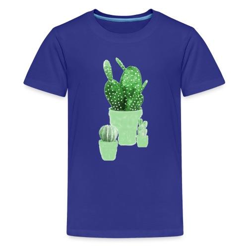 CACTUS AQUARELLE - T-shirt Premium Ado