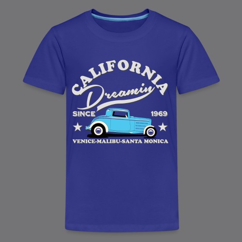 HOT ROD Tee Shirts - Teenage Premium T-Shirt