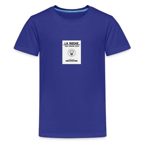 Piensa, Crea y Visualizar tu meta. - Camiseta premium adolescente