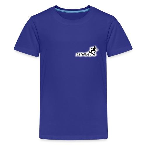 lifemoto - Teenage Premium T-Shirt