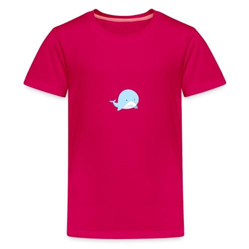 Whale - Maglietta Premium per ragazzi