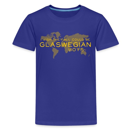 Glaswegian Boys - Teenage Premium T-Shirt
