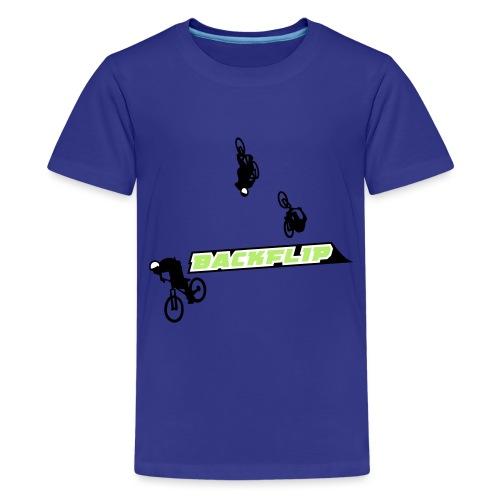 Backflip - Teenager Premium T-Shirt