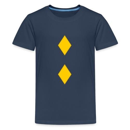 Upseerikokelas - Teinien premium t-paita