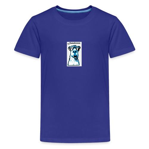 lille Llama - Teenager premium T-shirt