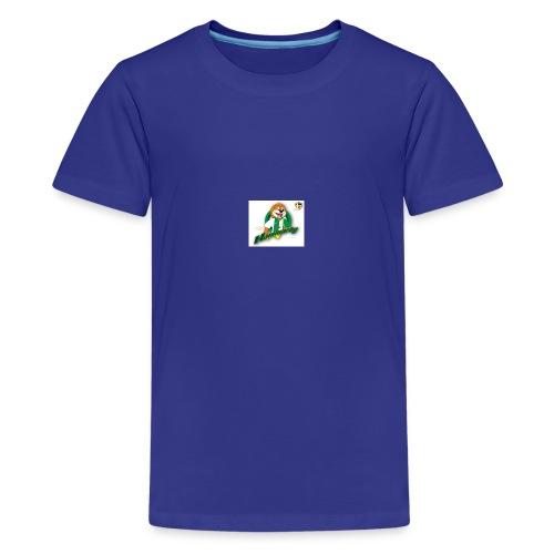 hammarby mascot01 ab - Premium-T-shirt tonåring