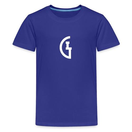 LG white - Teenager Premium T-shirt