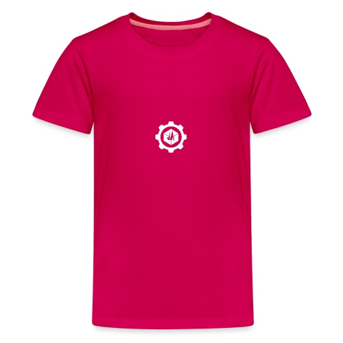 Jebus Adventures Cog White - Teenage Premium T-Shirt