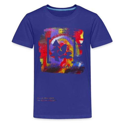 #art.4.nature / rot - Teenager Premium T-Shirt