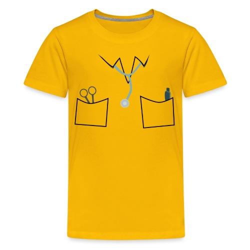 Scrubs tee for doctor and nurse costume - Teenage Premium T-Shirt