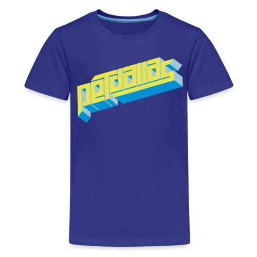 pd tshirt 3f org - Premium-T-shirt tonåring
