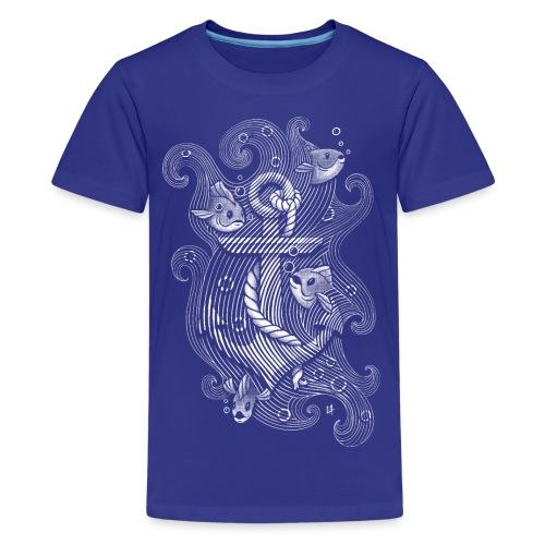 Lost Anchor - Teenage Premium T-Shirt
