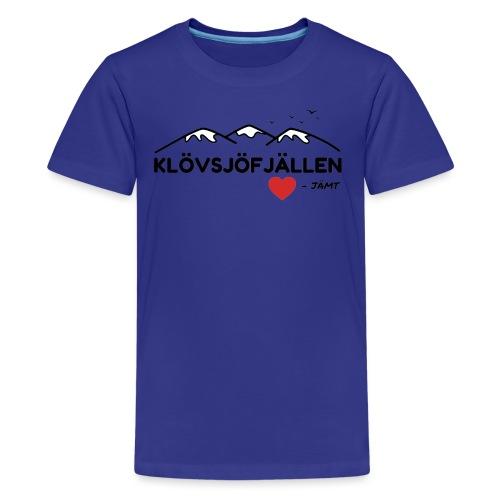 Klövsjöfjällen - Premium-T-shirt tonåring