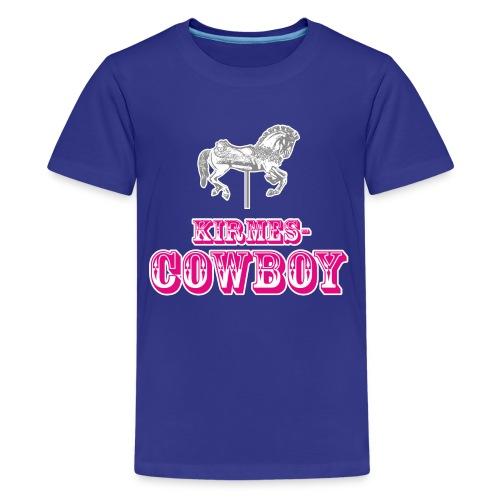 Kirmescowboy - Teenager Premium T-Shirt