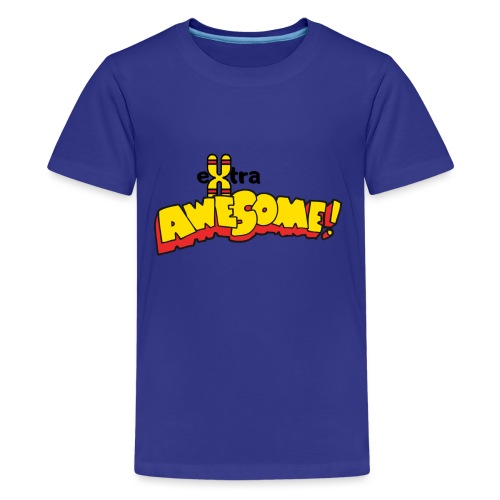 eXtra Awesome Down's Syndrome Tee - Teenage Premium T-Shirt