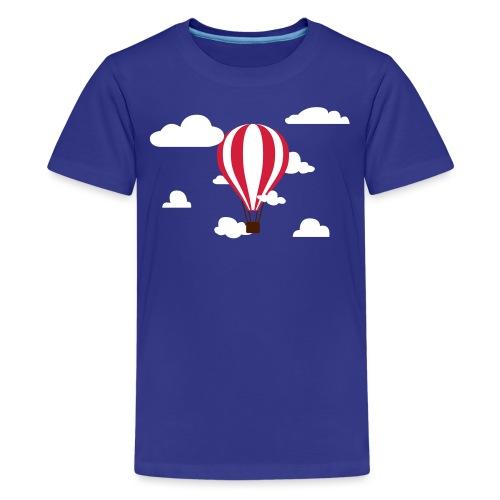 hot air balloon - Teenager Premium T-shirt