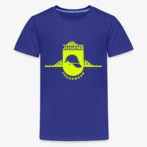 Jugend Feuerwehr - Teenager Premium T-Shirt