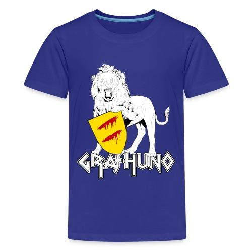 Ostfriesland Häuptlinge Graf Huno von Rastede - Teenager Premium T-Shirt