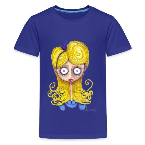 Alice Nel Paese Delle Meraviglie - Maglietta Premium per ragazzi