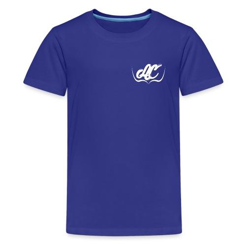 Logo Personal AC CLOTH Blanco - Camiseta premium adolescente