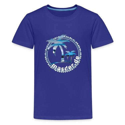 Masder Malle_blauHG - Teenager Premium T-Shirt