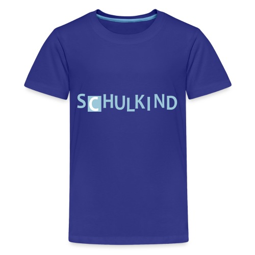 Schulkind - Teenager Premium T-Shirt