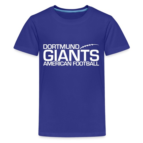 giants log bl weps - Teenager Premium T-Shirt