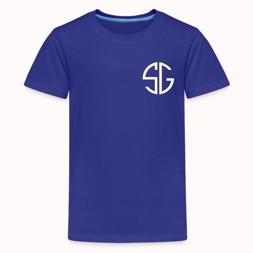 SemGamer log in wit - Teenager Premium T-shirt