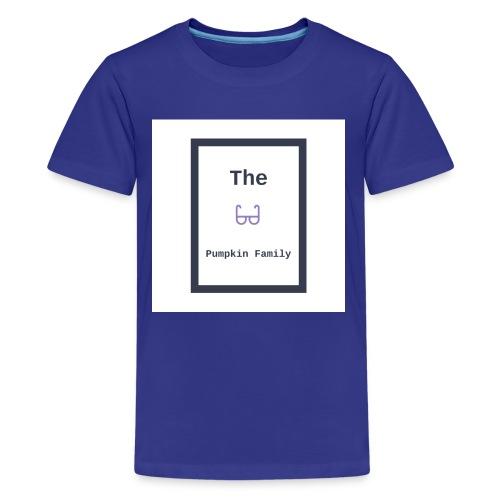 The Pumpkin Family Logo Shirts - Teenage Premium T-Shirt