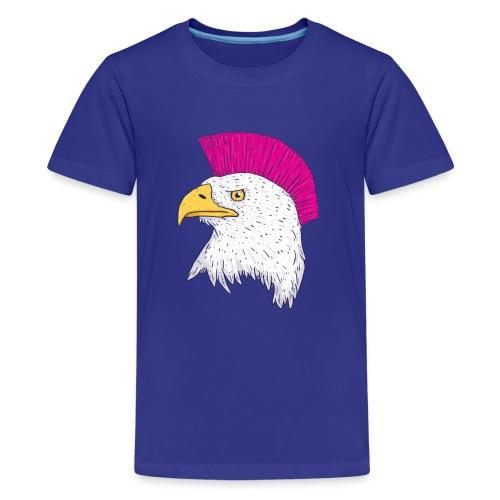 Hawk Punk Design - Camiseta premium adolescente