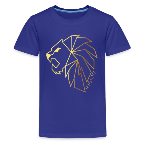 Löwe, Lion Inside - Teenager Premium T-Shirt