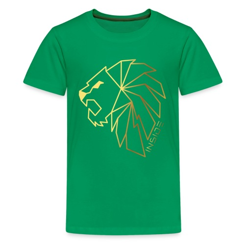 Löwe, Lion Inside - Teenager Premium T-Shirt