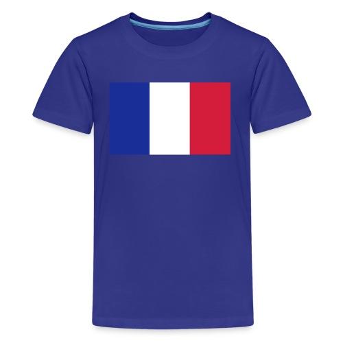 Französische Flagge - Teenager Premium T-Shirt