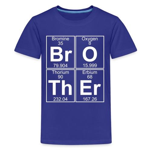 Br-O-Th-Er (brother) - Full - Teenage Premium T-Shirt