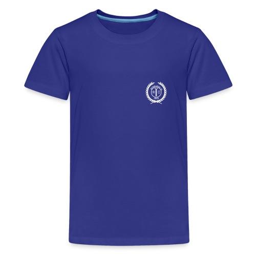 SIL_logo_hvit - Premium T-skjorte for tenåringer